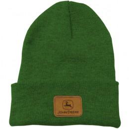 Grüne JohnDeere Wollmütze