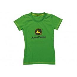 """Grünes Damen T-Shirt """"Logo"""""""