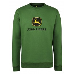 Sweatshirt mit John Deere Logo