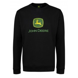 Sweatshirt Logo schwarz