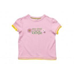 T-Shirt Girl rose, 140/146