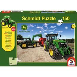 """Puzzle + SIKU Traktor """"Traktoren der M-Serie"""""""
