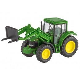 John Deere Traktor 6820S mit Vordergabel