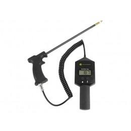 Testeur d'humidité portable pour foin avec poignée pistolet et sonde de 45 cm